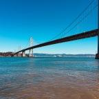 San Francisco Bay Blues, Oysters, Clam Chowder and a long walk