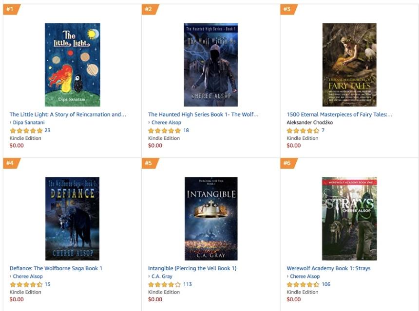 21 July Amazon #1 Teen & YA Myth & Legend